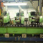 円筒3ヘッドセンターレス自動バフ研磨機